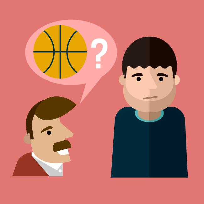 Vous faites du basket ?